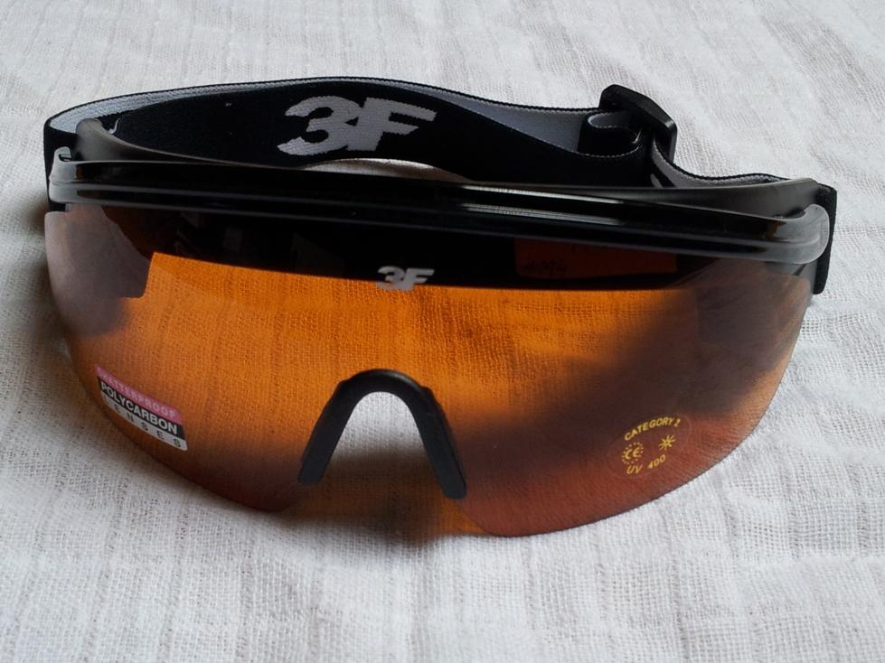 Brýle 3F Nordic black