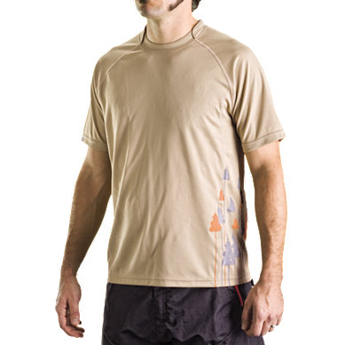 Dres Bontrager Rhytm Short Sleeve TAN Print