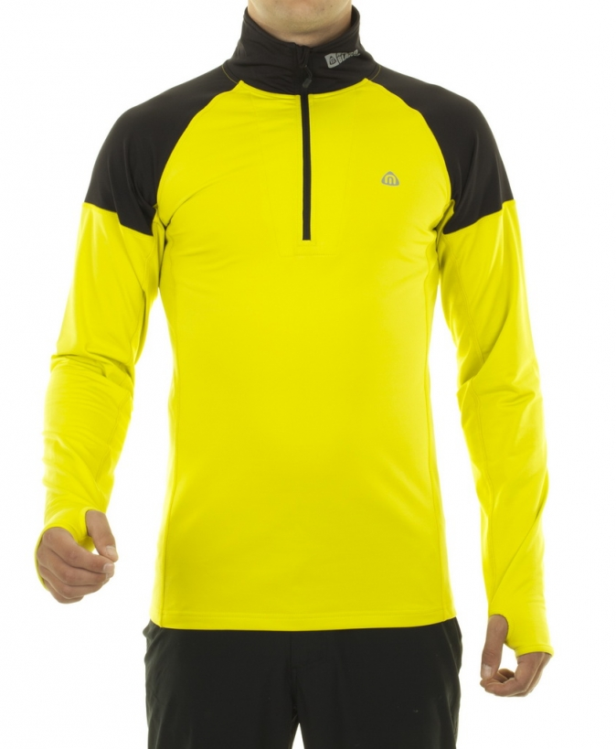 Mikina Nord Blanc Tecnopolar Siri yellow NBWPM3275-jzl