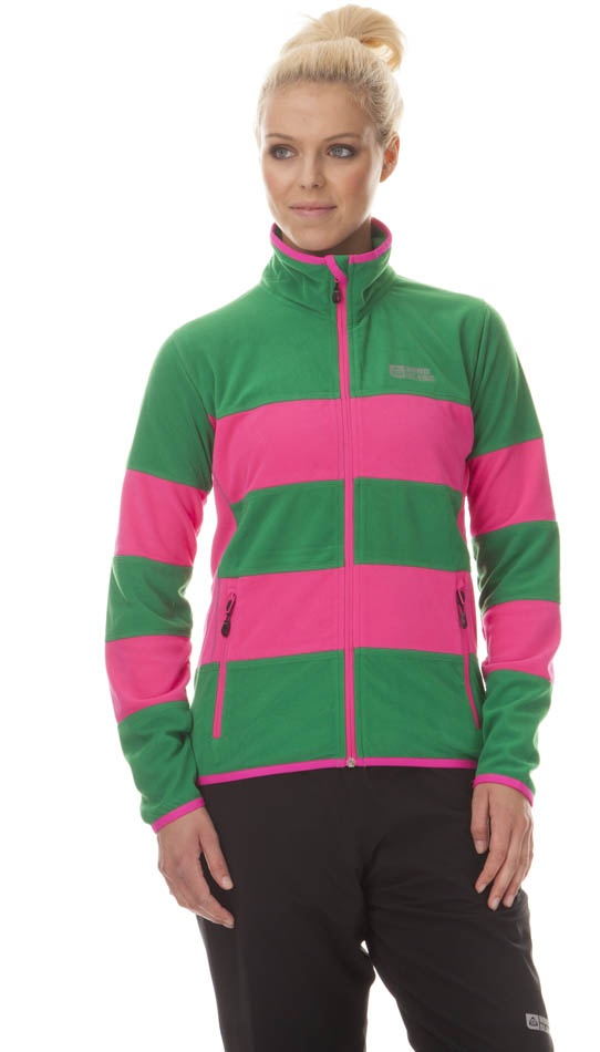 Mikina Nord Blanc Division green pink M