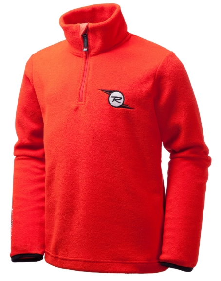 Mikina Rossignol Boy Microfleece Red