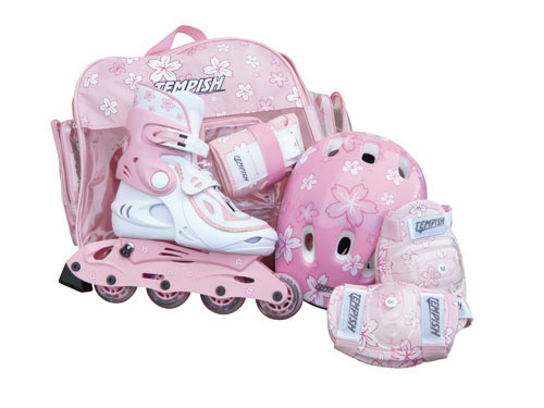 Brusle Tempish Baby Skate Set Girl Pink M (34-37)​