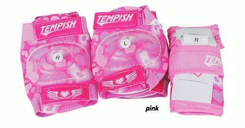 Chrániče Tempish Meex Set 3 pink