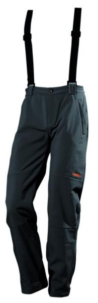 Kalhoty Termovel Softshell black