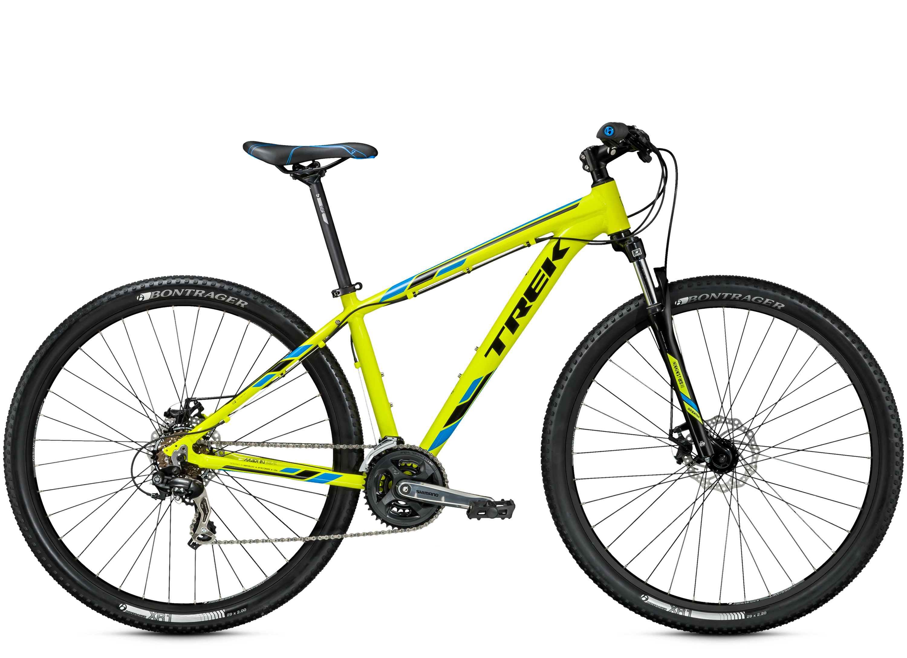Kolo Trek Marlin 5 yellow 2015