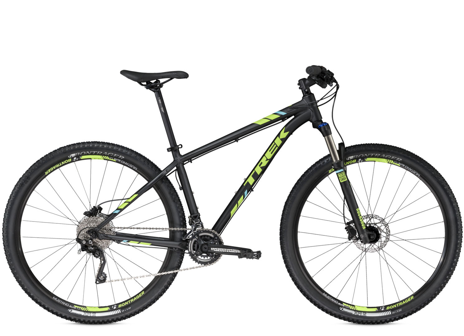 Kolo Trek X-Caliber 9 black green 2016