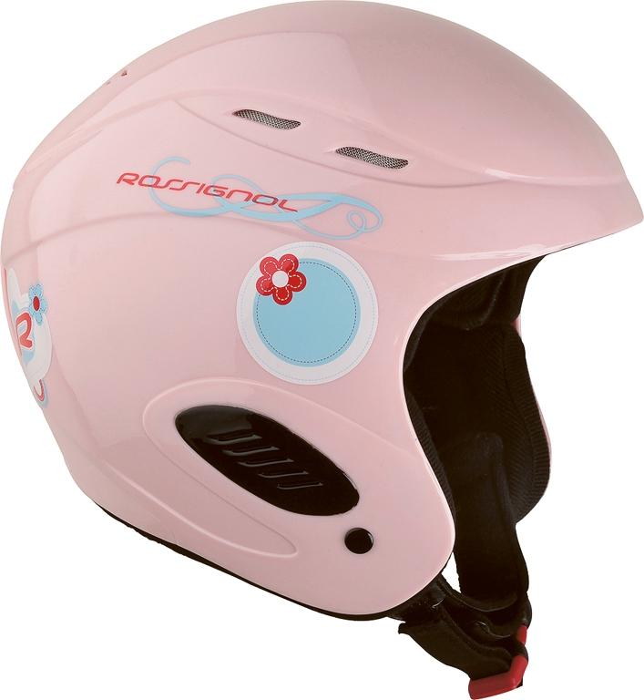 Přilba Rossignol Comp J Girl Pink