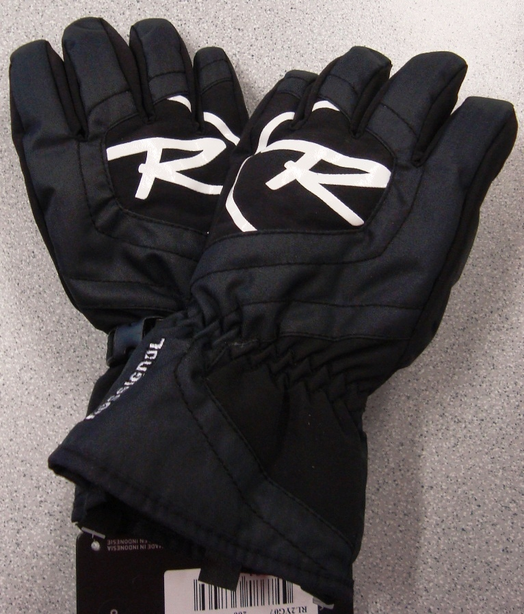 Rukavice Rossignol JR Cascade G black vel12