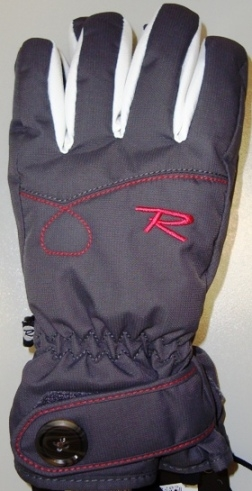 Rukavice Rossignol JR Star G Dark Slate