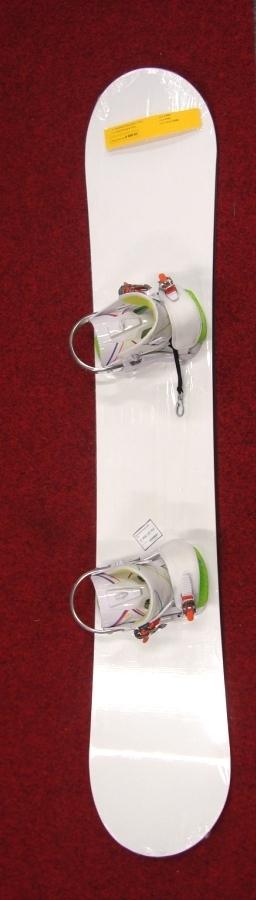 Snowboard Head white + vázání Rossignol Tesla 10/11