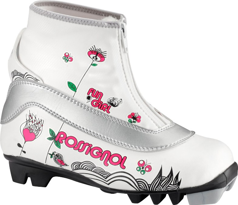 Boty Rossignol Snow Flake Princess white 33-34